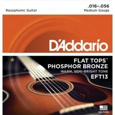 D'ADDARIO EFT 13 - Струны для акустической гитары