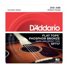 D'ADDARIO EFT 17 - Струны для акустической гитары