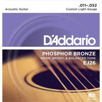 D'ADDARIO EJ26 - Струны для акустической гитары