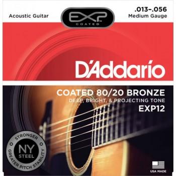 D'ADDARIO EXP12 - Струны для акустической гитары