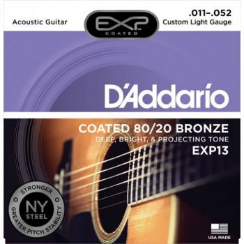 D'ADDARIO EXP13 - Струны для акустической гитары