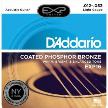 D'ADDARIO EXP16 - Струны для акустической гитары