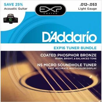 D'ADDARIO EXP16 -CT15 - Струны для акустической гитары