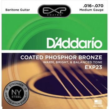D'ADDARIO EXP23 - Струны для акустической гитары