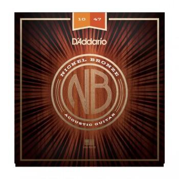 D'ADDARIO NB1047 - Струны для акустической гитары