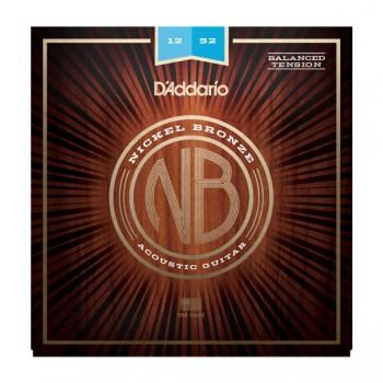 D'ADDARIO NB1252BT - Струны для акустической гитары