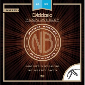D'ADDARIO NB1253 -CP10 - Струны для акустической гитары